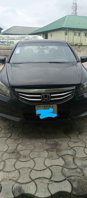 Honda Accord 2010 Sedan EX Automatic Black | Cars for sale in Lagos State, Ajah