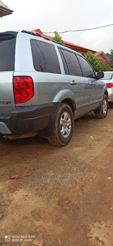 Honda Pilot 2005 LX 4x4 (3.5L 6cyl 5A) Blue | Cars for sale in Kosofe, Lagos State, Nigeria