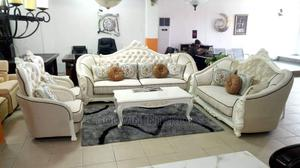 7 Seater White Sofa Chair | Furniture for sale in Lagos State, Ojo