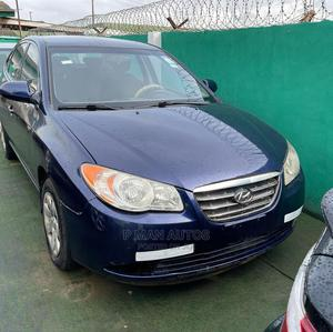 Hyundai Elantra 2008 1.6 GLS Automatic Blue | Cars for sale in Lagos State, Agege