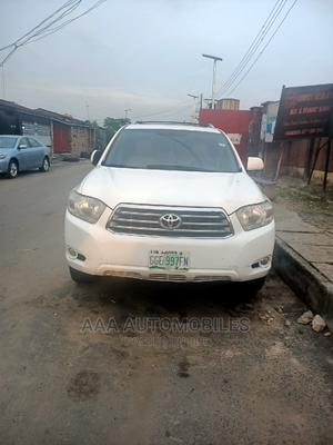 Toyota Highlander 2009 Limited 4x4 White | Cars for sale in Lagos State, Surulere