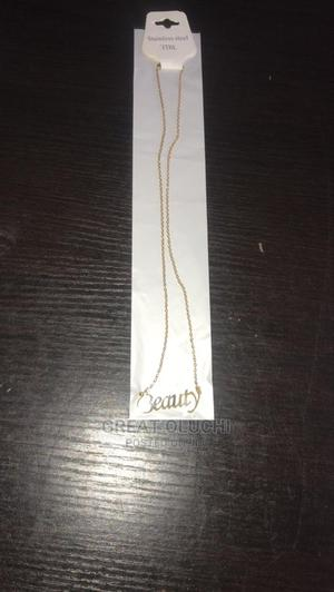 Steel Necklace   Jewelry for sale in Delta State, Warri