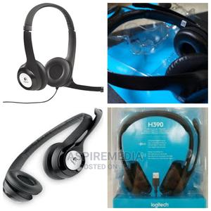 Logitech - H390 USB Headset With Noise-canceling Microphone   Headphones for sale in Lagos State, Alimosho