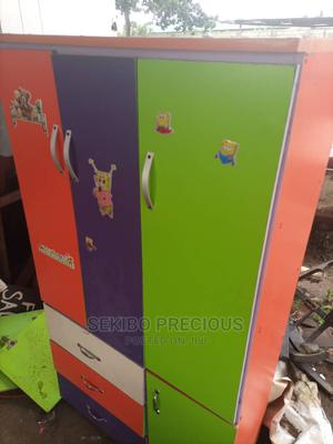 Fairly Used Kids Wardrobe | Children's Furniture for sale in Rivers State, Port-Harcourt