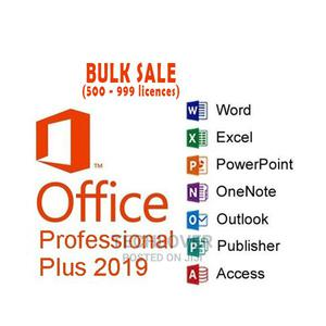 Office 2019 Pro Plus 5 User Bulk Sale (500 - 999 Licences)   Software for sale in Lagos State, Ikeja