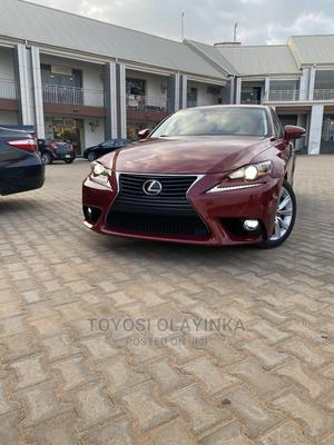 Lexus IS 2015 250 Red | Cars for sale in Abuja (FCT) State, Durumi