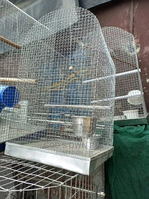 Well Built Local Cage For Your Parrot | Pet's Accessories for sale in Lagos State, Surulere