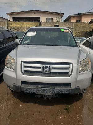 Honda Pilot 2008 SE 4x4 (3.5L 6cyl 5A) Silver | Cars for sale in Lagos State, Surulere
