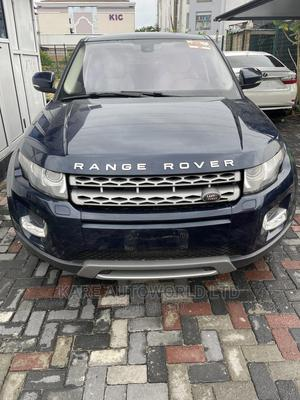 Land Rover Range Rover Evoque 2013 Pure Plus AWD Blue | Cars for sale in Lagos State, Lekki