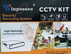 4ch CCTV Camera Kit 2indoor 2outdoor   Security & Surveillance for sale in Lagos State, Ojo