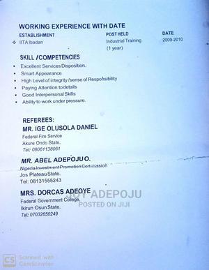 Customer Service CV | Management CVs for sale in Oyo State, Ibadan