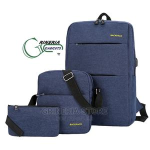 3 IN Set Laptop Backpack   Bags for sale in Lagos State, Ikeja