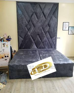 Luxury Padded Modern Bedframe   Furniture for sale in Lagos State, Ajah