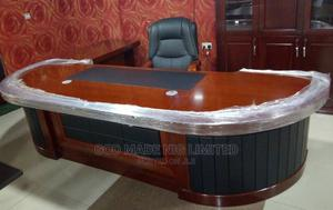 Pure Wooden Executive Director Office Table With Chair   Furniture for sale in Lagos State, Ojo