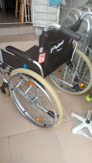 Wheelchair Lond Used   Medical Supplies & Equipment for sale in Lagos State, Mushin