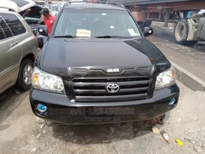 Toyota Highlander 2004 Limited V6 4x4 Black | Cars for sale in Lagos State, Apapa