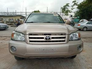Toyota Highlander 2007 Limited V6 4x4 Gold | Cars for sale in Lagos State, Gbagada