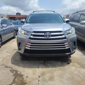 Toyota Highlander 2016 XLE V6 4x4 (3.5L 6cyl 6A) Gray | Cars for sale in Lagos State, Ogba