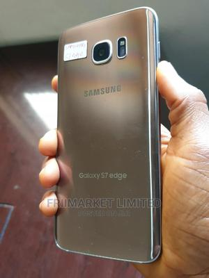 Samsung Galaxy S7 edge 64 GB Gold | Mobile Phones for sale in Edo State, Ekpoma