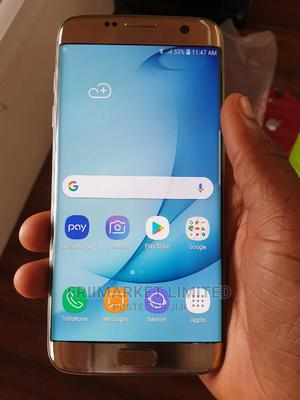 Samsung Galaxy S7 edge 64 GB Gold   Mobile Phones for sale in Edo State, Auchi