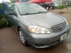 Toyota Corolla 2003 Sedan Automatic Gray | Cars for sale in Lagos State, Oshodi