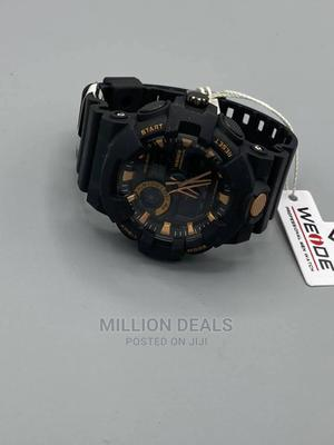 Men's Bracelet Strap Wrist Watch Black   Watches for sale in Lagos State, Ikorodu