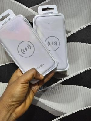 Veger Wireless Charging and Micro-Usb Power Bank (20000mah).   Accessories for Mobile Phones & Tablets for sale in Lagos State, Ikeja