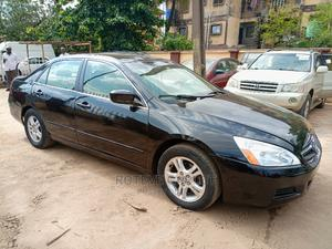Honda Accord 2007 2.4 Black   Cars for sale in Lagos State, Ifako-Ijaiye