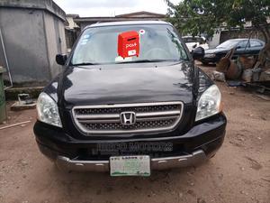 Honda Pilot 2004 EX 4x4 (3.5L 6cyl 5A) Black | Cars for sale in Lagos State, Amuwo-Odofin