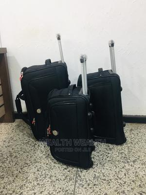 High Quality Star Express Trolley Luggage 3 Set Black Bag | Bags for sale in Lagos State, Ikeja
