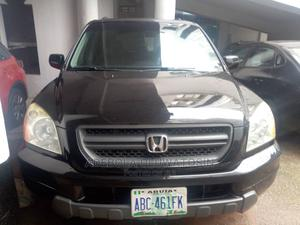Honda Pilot 2003 LX 4x4 (3.5L 6cyl 5A) Black | Cars for sale in Abuja (FCT) State, Central Business District