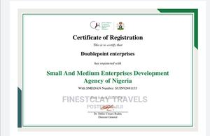 Register Ur Business And Get Ur Smedan Certificate | Legal Services for sale in Lagos State, Ajah