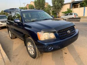 Toyota Highlander 2003 Blue | Cars for sale in Lagos State, Ikeja