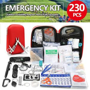 Emergency Bag Band Aid 230PCS Treatment Pack Survival Kit   Camping Gear for sale in Lagos State, Ikoyi