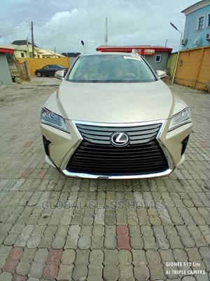 Lexus RX 2017 350 AWD Gold   Cars for sale in Lagos State, Ajah