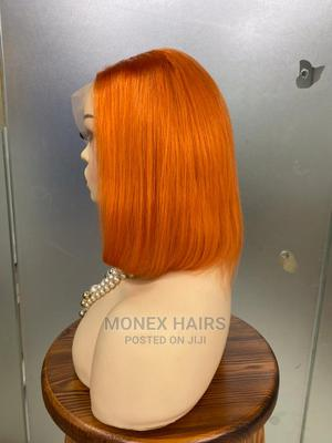 Raw Donor Straight in Orange Closure Unit   Hair Beauty for sale in Lagos State, Ojo