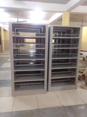 Double Library Metal Shelf | Furniture for sale in Lagos State, Amuwo-Odofin
