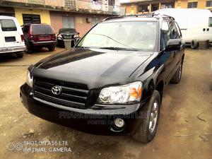 Toyota Highlander 2005 V6 4x4 Black   Cars for sale in Lagos State, Oshodi