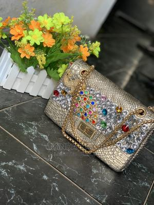 Gold Luxury Handbag | Bags for sale in Lagos State, Abule Egba