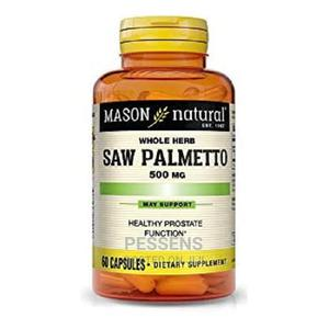 Saw Palmetto 500mg 90 Capsules   Vitamins & Supplements for sale in Lagos State, Yaba
