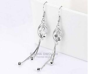 Silver Drop Earrings | Jewelry for sale in Kogi State, Lokoja