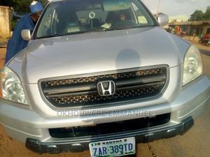 Honda Pilot 2004 EX 4x4 (3.5L 6cyl 5A) Silver | Cars for sale in Kaduna State, Zaria