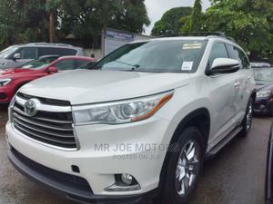 Toyota Highlander 2016 White | Cars for sale in Lagos State, Apapa