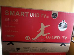 LG 65 Inches Smart TV at a Discounted Promo Price | TV & DVD Equipment for sale in Oyo State, Egbeda