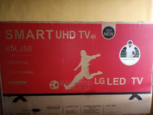 LG 65 Inche Smart TV With 2 Years Warranty and Internet | TV & DVD Equipment for sale in Ogun State, Abeokuta North