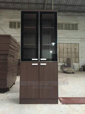 Wooden Bookshelf/Cabinet. | Furniture for sale in Lagos State, Abule Egba