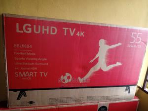 LG 55 Inches Smart TV at a Discounted Promo Price of 180,000   TV & DVD Equipment for sale in Ogun State, Ado-Odo/Ota