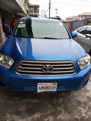 Toyota Highlander 2008 4x4 Blue   Cars for sale in Lagos State, Isolo
