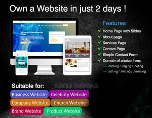 Website Design and Development | Computer & IT Services for sale in Rivers State, Obio-Akpor