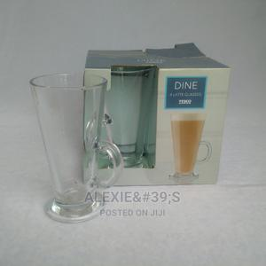 4 Pieces Tesco Latte Glasses | Kitchen & Dining for sale in Abuja (FCT) State, Kubwa